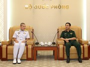 Naval forces of Vietnam, Thailand foster partnership