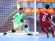 Vietnam lose at Asian U20 Futsal Championship