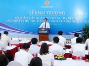 Foreign ministry officially launches one-stop shop services