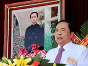 Country treasures Hoa Hao Buddhists' contributions: front leader