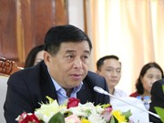 Vietnamese, Lao investment ministries enhance cooperation