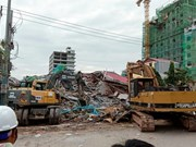 Seven killed in Cambodia building collapse