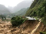 Lai Chau: Four people swept away by flash floods