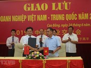 Cao Bang, Chinese locality look to boost border trade linkage