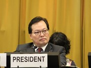Vietnam chairs plenary of Conference on Disarmament