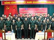 Vietnam helps Lao officers improve military history research skills