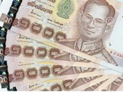 Thai baht's price sees rapid increase