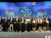 Vietnam's 50 best-performing firms announced
