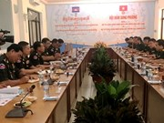Vietnam, Cambodia boost military engineering cooperation