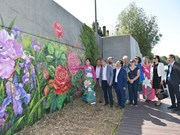 Mural inaugurated to celebrate Vietnam-France friendship