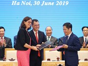 European firms optimistic with EVFTA