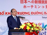 PM attends launch of Vietjet's new flights to Japan