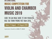 Vietnam to host int'l violin – chamber music contest for first time