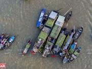 Cai Rang floating market in Mekong Delta hosts cultural festival