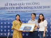 Excellent East Sea research works awarded