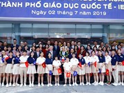 PM visits Quang Ngai's International Education City