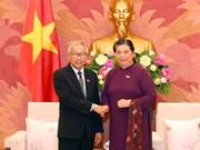 Officials of Myanmar's ruling party visit Vietnam