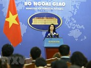 VN calls for respecting national sovereignty, int'l law in East Sea