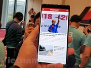 Made-in-Vietnam smartphone makes debut in Myanmar