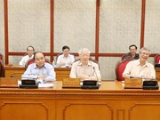 Party General Secretary Nguyen Phu Trong chairs Politburo meeting