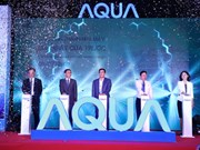 AQUA Vietnam sets up drum washing machine plant