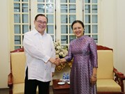 VUFO President meets with Philippine Foreign Minister