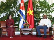 Vice Presidents talk ways to reinforce Vietnam-Cuba relations
