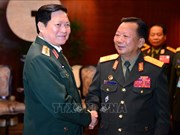 Defence minister affirms ties with Laos