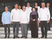 Vice President meets Cuban leaders to enhance ties