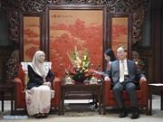 Malaysia, China boost bilateral ties