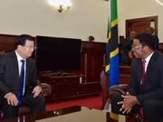 Vietnam, Tanzania agree to boost ties