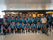 U18 team heads to Japan for training camp