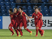 Vietnam's women football team rank first in Southeast Asia