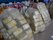 Thai police seize over one tonne of crystal meth