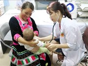 Lai Chau: 2,000 children recieve free checkups for heart disease