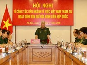Vietnam considers sending civil force to UN peacekeeping missions
