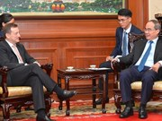 Ho Chi Minh City's official receives French ambassador