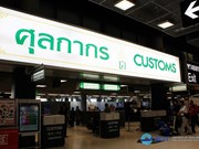 Thailand clarifies new customs regulations for air passengers