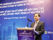 APEC workshop promotes innovative work skills in digital age