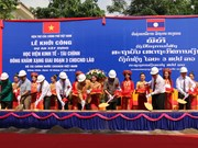 Vietnam helps Laos build economics-finance academy