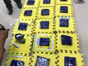 Tay Ninh customs detects 8kg of synthetic drug from Cambodia