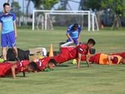 Coach Park Hang-seo tests 26 players' skills