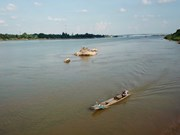 Mekong River's water level in Thailand lowest in nearly 100 years