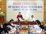 Top legislator urges Tay Ninh to utilise potential for growth