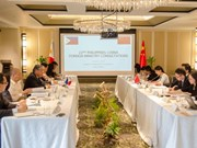 Philippines, China hold foreign ministry consultations