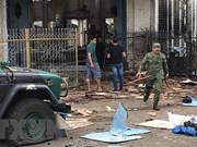 Indonesian police: couple behind church bombing in Philippines