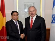 Party official's visit tightens relations with Israel