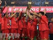 Vietnamese men's football team retain first position in region