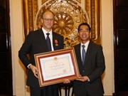 Friendship Order bestowed upon German Ambassador to Vietnam
