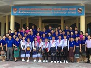 Quang Binh – Khammoune friendship youth meeting held